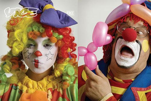... clowny clown ...