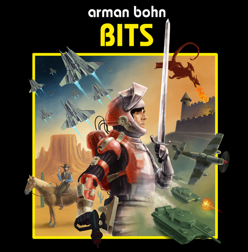 ... Bits album cover - by Gideon Klindt ...