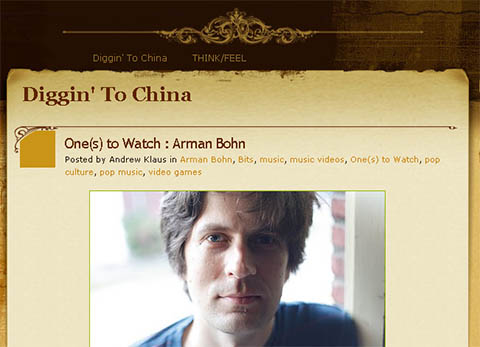 ... Diggin' to China ...