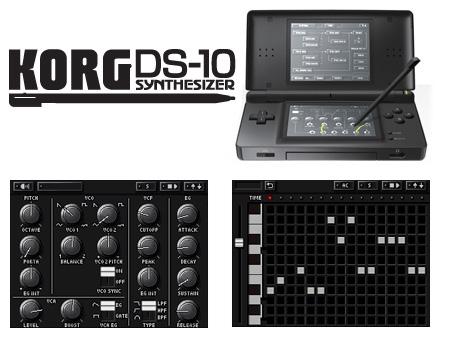 ... Korg DS-10 ...